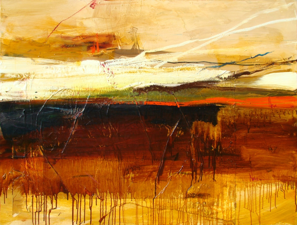 Red River 36 x 48