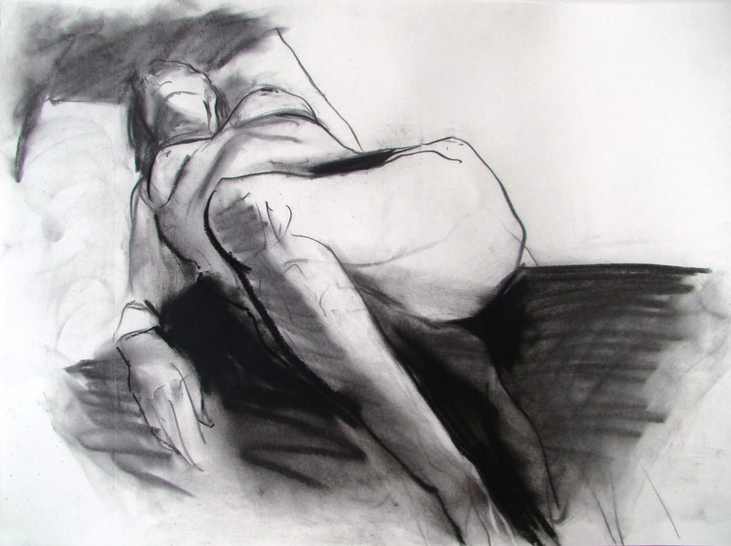 Charcoal on Paper 22 x 30